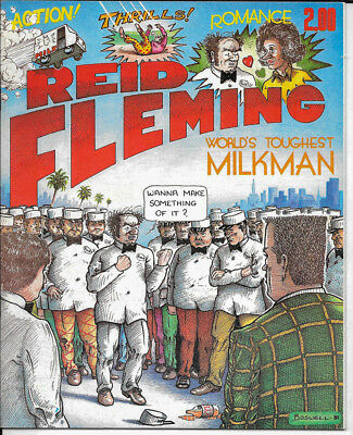 Reid Fleming World's Toughest Milkman, #1 1980, 1st Printing. Very Fine