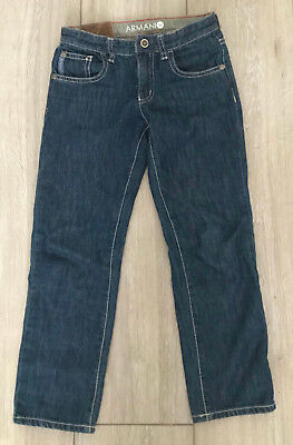 ARMANI Junior Boys Jeans, Age 6+ Years, 100% Genuine