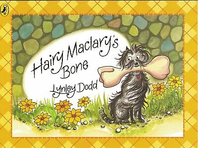 Young Children's Rhyming Picture Story Book: Hairy Maclary's Bone - Lynley Dodd