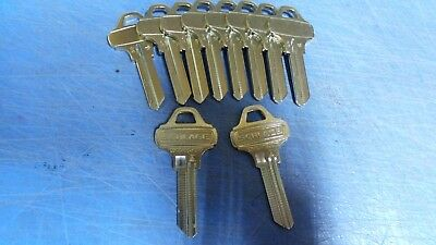 "10 – Genuine Schlage Everest C145 Key Blanks, these have ""DO NOT DUPLICATE"" on t"