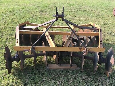 disc plow pull behind attachment for tractor