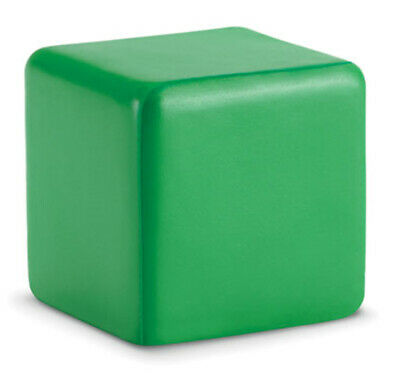 Green Anti-Stress Reliever Cube Stressball Relief Adhd Arthritis Physio Autism