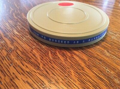 """Reel to Reel Movie-MINT CONDITION-5"""" PLASTIC REEL AND CASE W/8MM REEL & MOVIE"""