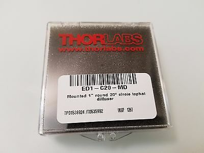 "ThorLabs ED1-C20-MD - SM1-Threaded Mount, Ø1"" 20º Circle Tophat Engineered Diffu"