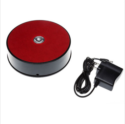 NEW 14CM LED 3D Photo Shop Display Turntable 360 Rotating Base Stand Turntable