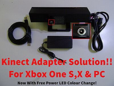 Kinect adapter modification for Xbox One S, X and PC - Very FAST Quality Service