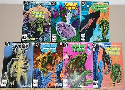 Saga of the Swamp Thing 38-43 & 45 lot of 7 2nd John Constantine 1985