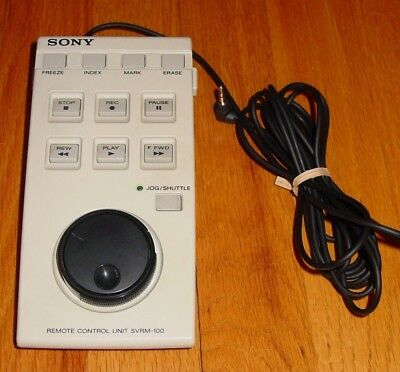 Sony Remote Control Unit SVRM-100 for Use With Video or Medical Equipment