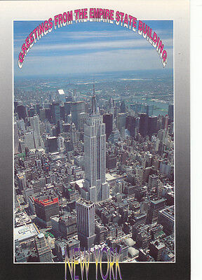 USA New York Empire State Building Greetings