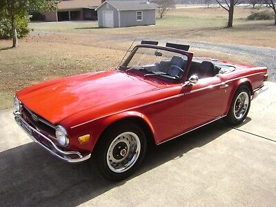 1971 Triumph TR-6 Conv tunning Exterior - Numbers Matching  - Low Miles  Selling To The Highest Bidder