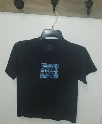 Boy's DC Kids Black T-Shirt Size XL, 100% Cotton,
