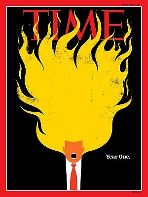 TIME Magazine Donald Trump Year One NEW