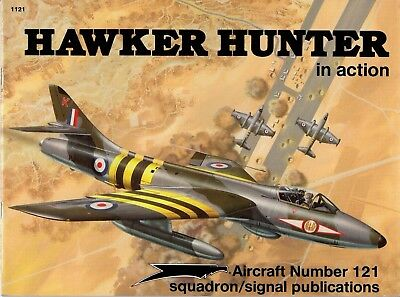Hawker Hunter  in action SQUADRON/SIGNAL Aircraft Nr. 121