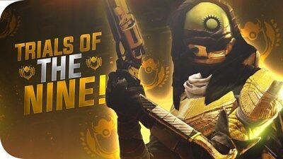 Destiny 2 Trials Of The Nine Flawless 100% GUARANTEED Recoveries PS4.