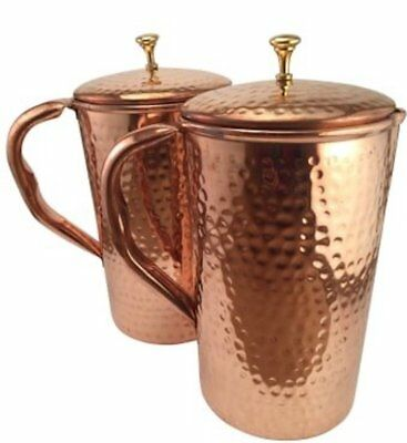 Pure Copper Water Jug   Copper Pitcher for Ayurveda Health Benefit