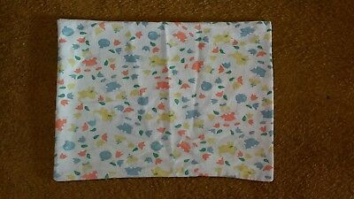 Clevamama ClevaFoam baby pillow replacement 100% cotton cover
