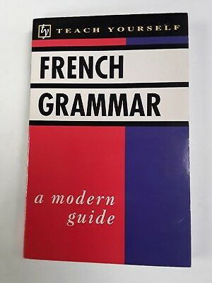 French Grammar - Teach Yourself Guide -  Modern Facts Book