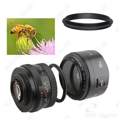 Male to Male Lens Ring 52mm-67mm 52 to 67 Macro Reverse Ring Adapters