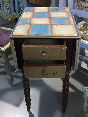 Delightful Antique Painted French Breakfast Table
