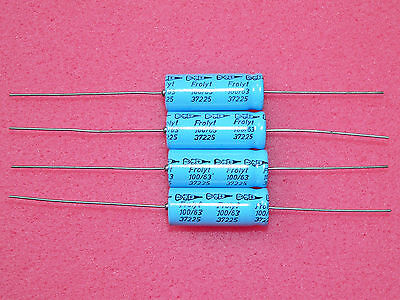 32x12mm capacitor FROLYT 470uF 25V Axial capacitor NOS audio 4 electrolytic capacitors