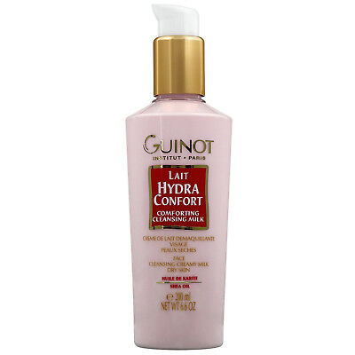 Guinot Lait Hydra Confort Cleansing Milk 200ml for dry skin types