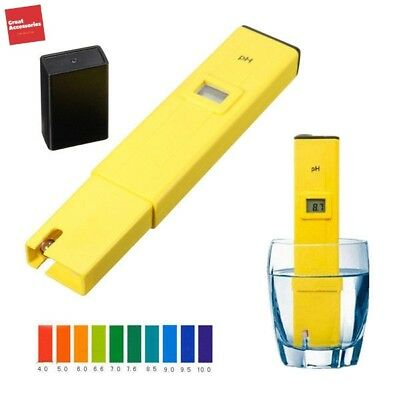 Digital PH Tester Meter Pocket Pen Aquarium Pool Water Digital Tester