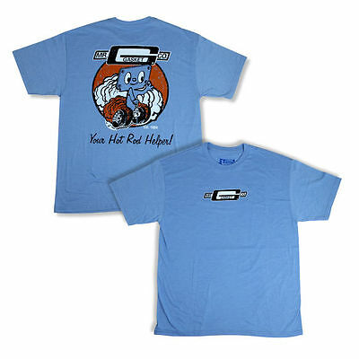 """Mr. Gasket """"Corky"""" Tee Shirt - M, L and XL, blue with the ole vintage look..."""