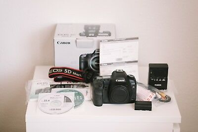 Canon EOS 5D Mark II 21.1MP Digital SLR Camera  - Body, Charger, Battery and etc
