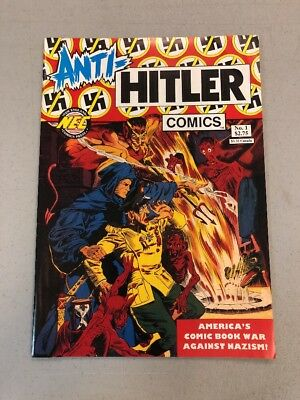 Anti-hitler Comics #1 NEC new England Comics Press 1992