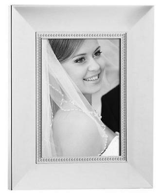 "LENOX JUBILEE PEARL 8"" x 10"" PHOTO PICTURE FRAME"