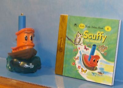 Hallmark Keepsake Ornament Scuffy the Tugboat with Little Golden Book 2000