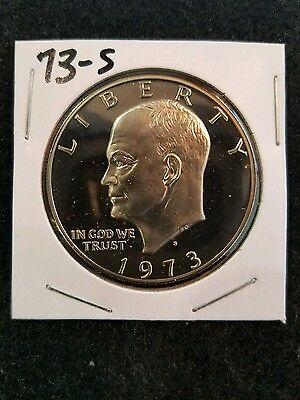 1973-S Proof Ike Dollar,,,from Us Proof Set