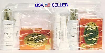 2 NEW SET Kojic Acid Skin Dr Alvin Soap Cream Toner WHITENING 100% AUTHENTIC