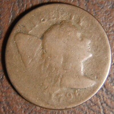 1796 Capped Liberty Large Cent, S-81