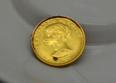1926 Chile 20 Pesos Km#168 -90% Gold