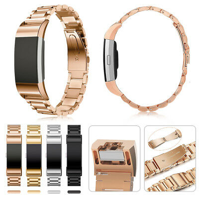 Replacement Bracelet Strap Stainless Steel Band for Fitbit Charge 2 Watch Band