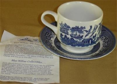 WILLOW by Heritage Mint - 8 Cups & 7 Saucers