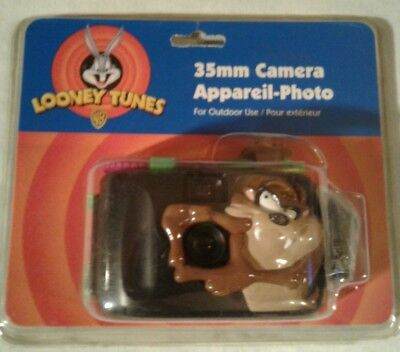 Brand New 1997 Looney Tunes Collectible Tasmanian Devil- 35mm Camera Outdoor Taz