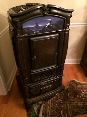 Vintage Parlor Wood/Coal stove 174 Dauntless Number 246