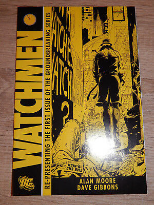 WATCHMEN #1 (DC) -> ALAN MOORE, DAVE GIBBONS - 2nd Print