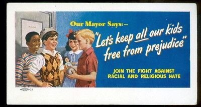 Blotter-early-FIGHT RAcial & religious Hate-children-Negro child in ad