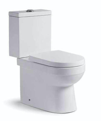 NEW YEAR Clearance Ceramic CleanFlush WELS Watermark Toilet Suite Soft Close