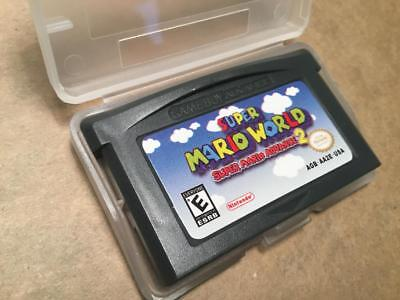 Super Mario World Super Mario Advance 2 GAMEBOY ADVANCE GAME GBA REPRODUCTION! !
