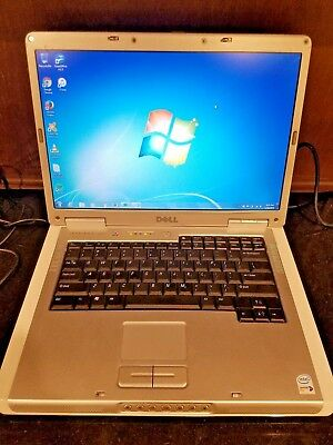 "Dell Inspiron 6400 Silver Laptop Notebook 15.4"" 4.0GB RAM 500GB Windows 7 Office"
