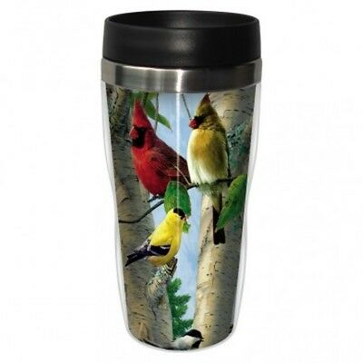 Tree Free Mug 47cl (16 ounce) Travel Tumbler Favourite Songbirds