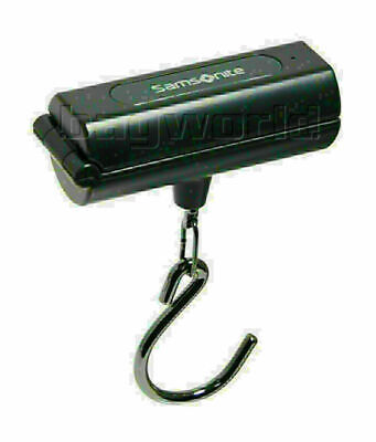 Samsonite Travel Accessories Foldable Digital Luggage Scale Dark Grey 34042