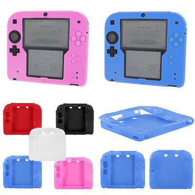 Silicone Rubber Case Protective Guard Bumper Gel Skin Cover for Nintendo 2DS US