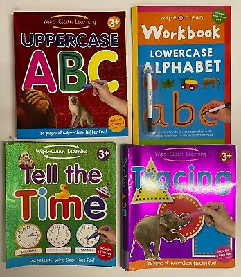 Home School Learning Big Workbook Children Kids Ages 3-5 Year Ready for School