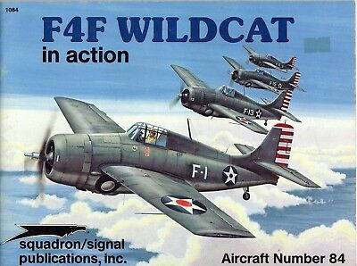 F4F Wildcat in action SQUADRON/SIGNAL Aircraft Nr. 84