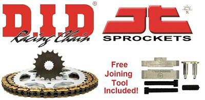 DID & JT Chain And Sprocket Kit + Tool Yamaha FZ 1 N/S  06-15